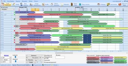 Oprogramowanie-hotelowe-Grafik rezerwacji